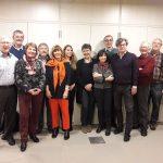 Comité et membres: (g. à d.) Michel Lauer (membre), Jos Faber (président d'honneur), Renée Luicius (membre), Lucien Berscheid (trésorier), Monique Berscheid (présidente), Claire Henzig (membre), Sylie Braquet (membre), Marie-Laure Mir (vice-présidente), Luis Perez (membre), Roland Jaeger (secrétaire), Paul Hansen (membre), Herbert Rüdisser (membre)
