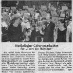 30/11/1996: Concert au Conservatoire de Luxembourg