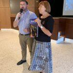 Pablo Cerso, directeur AMAP et Monique Berscheid, présidente TdHL