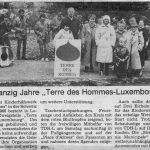 1986: 20 ans Terre des Hommes Luxembourg