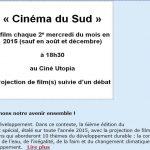 2015: Cinéma du Sud
